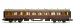 2P-000-002 Dapol COLLETT COACH BR MAROON / CRIMSON  COMPOSITE  W7021